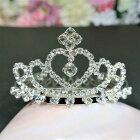 ティアラ王冠クラウンヘアアクセサリーヘッドアクセウディング結婚式