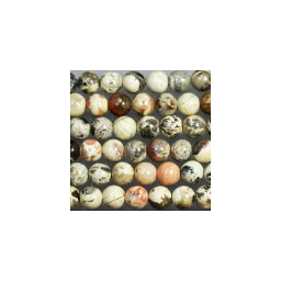 天然石  オーシャンジャスパー  丸玉 4mm 1本