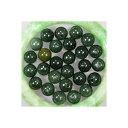 天然石 翡翠 深緑  10mm 6個入り