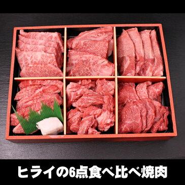 【あす楽対応】ヒライの6点食べ比べ焼肉 600g(3〜4人前)(冷凍)【送料無料※一部地域+500円】