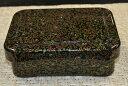 隅丸小丼重貝堆朱内朱 漆器 懐石用 うな重 器 うな重箱 和食器 業務用お重、かつ重、鰻【取り寄せ商品】土用の丑の日うなぎ 3-638-41016
