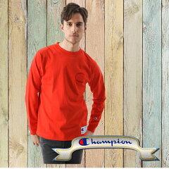 (C3-L422)ロングスリーブTシャツ18FWアクションスタイルチャンピオン01