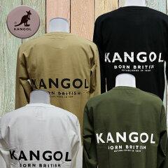 カンゴールkangolロングスリーブTシャツバックプリントがアクセント5052n-01