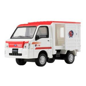3月発売予定 ダイヤペット DK-5120 1/36スケール スバルサンバー 赤帽車 アガツマ (おもちゃ・玩具)
