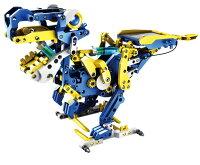 【送料無料】 エレキット ソーラー工作キット ビルドロイド 12種類に変形するロボット 太陽電池+水圧パワー JS-6215 STEM 自由研究