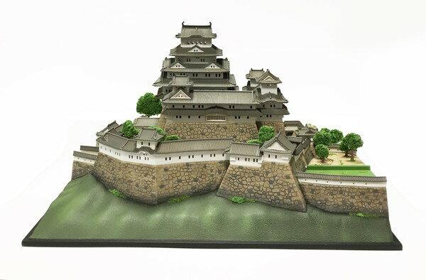 【送料無料】 日本の名城 平成姫路城(白鷺城) プラモデル 1/500スケール