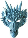 【送料無料】 パーティーグッズ ワイルドマスク ドラゴン 竜 龍