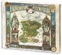 【送料無料】 ジグソーパズル 立体パズル 366ピース キャンバスパズル わちふぃーるどの冒険地図 30.7×23.7×2cm 2305-01
