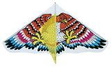 【送料無料】 凧 スポーツダイナミックカイト ビッグイーグル LLサイズ 幅120cm タコ糸付き