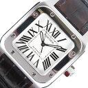 カルティエ Cartier サントス100MM W20106X8 自動巻き ユニセックス 腕時計【中 ...