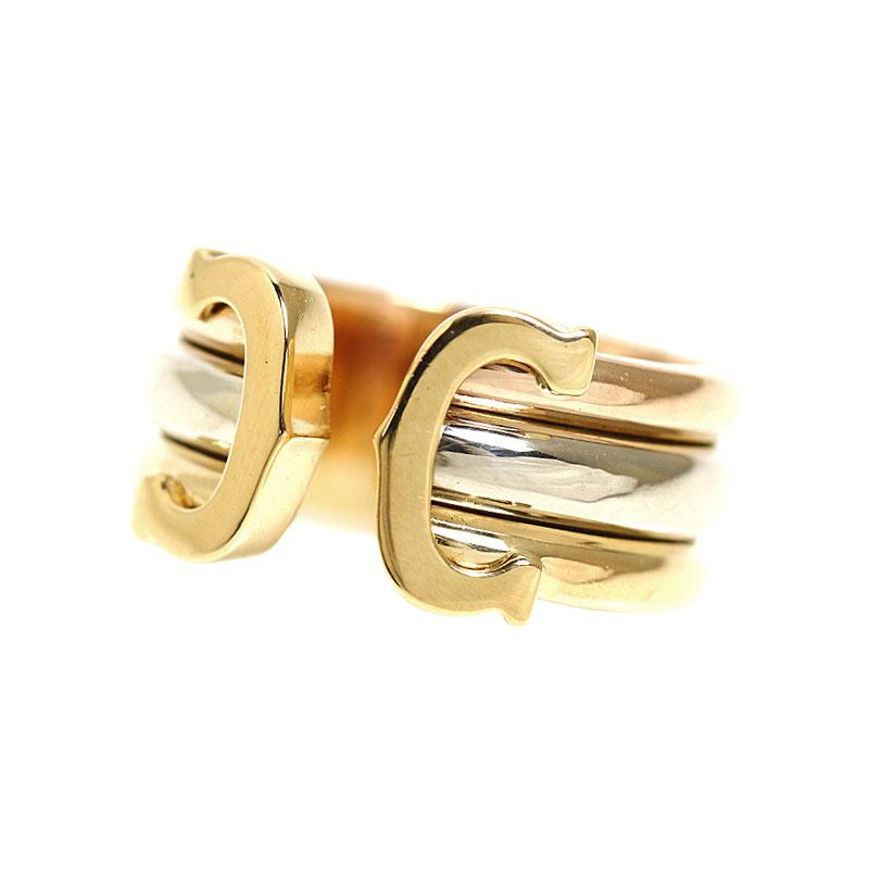 レディースジュエリー・アクセサリー, 指輪・リング  Cartier C2 K18