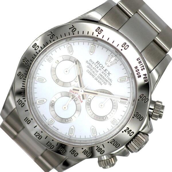 ロレックスROLEXデイトナ116520自動巻きメンズ腕時計 中古