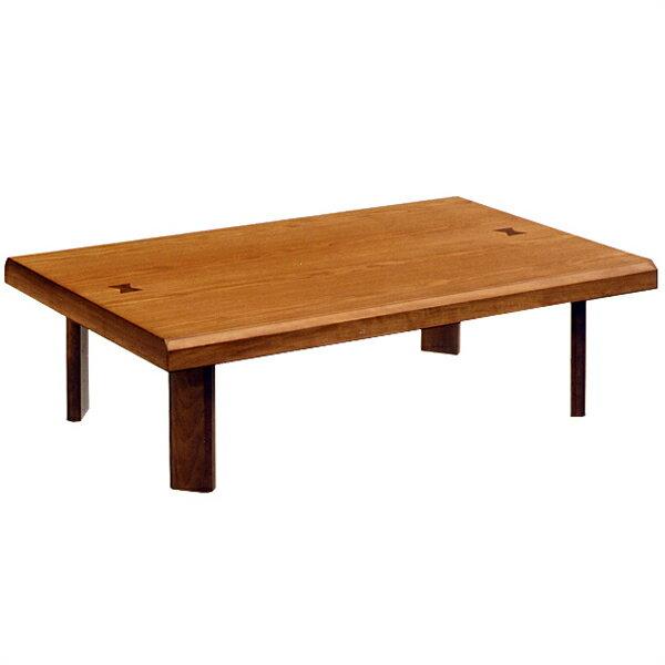 テーブル 座卓 幅120cm 雅 象嵌入り 折脚...の商品画像