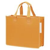 サクラクレパス[UNT-A4J#5 オレンジ]ノータムオフィストートバックJオレンジ[ファイル・ケース][ケース・バッグ][トートバッグ]
