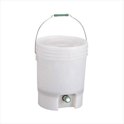 生ゴミ処理機/生ごみ処理容器 【18L】 直径約310×387mm 『EMエコペール』 〔キッチン 台所〕