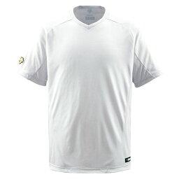 デサント(DESCENTE) ベースボールシャツ(Vネック) (野球) DB202 Sホワイト XA