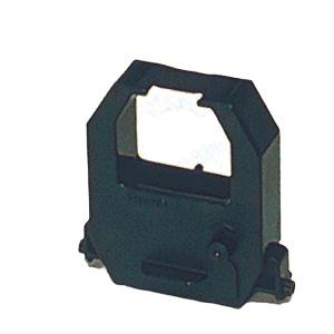 (まとめ) アマノ 電子タイムスタンプ インクリボン CE-319550 黒 1個入 【×2セット】