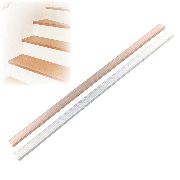 階段の滑り止め スリム 【15本組 クリア】 約3×70cm/1本 透明タイプ 簡単装着 日本製