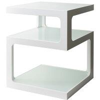 サイドテーブル ARCA ST-403_WH [カラー:WHITE]