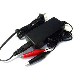 密閉型、開放型、シールド型対応12Vバイクバッテリー専用充電器(充電電流 1.1A)
