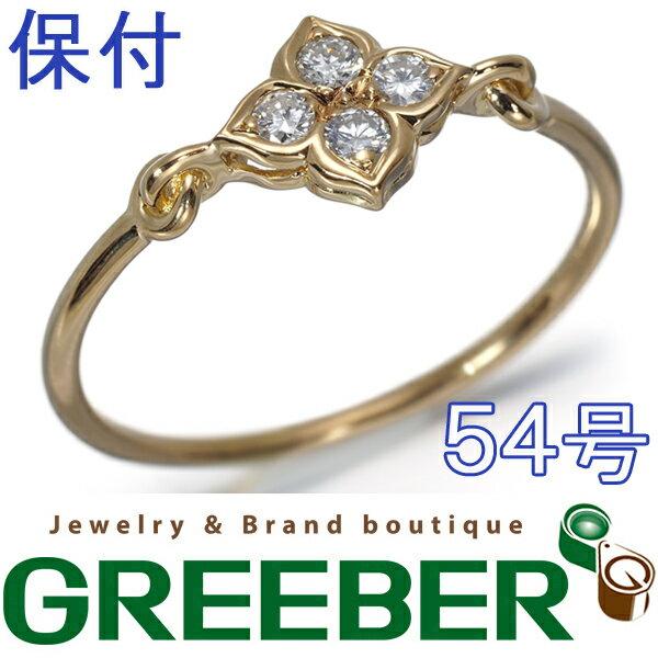 ヒンドゥ 【中古】 K18YG 50号 BLJ ダイヤモンド カルティエ リング ダイヤ