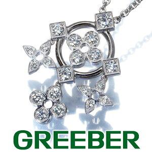 路易威登(Louis Vuitton)项链钻石钻石Pandan tiff Danteru de Monogram K18WG [pre] BLJ