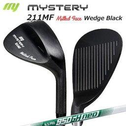 ミステリー 212MF ウェッジ 日本シャフト NSプロ 950ネオ 墨染めMystery 212MF Milled Face Wedge/N.S.PRO 950 NEO/カスタムクラブ/平面加工フェース