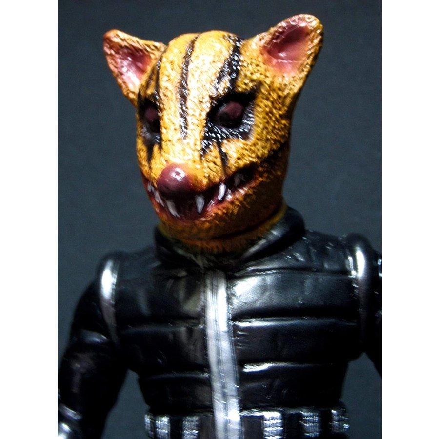 【中古】怪獣少女 ソフビコレクション 鉄人タイガーセブン 鼠原人画像