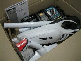 マキタ18V充電式ハンドクリーナ紙パック式CL182FDRFWバッテリーBL1830・充電器DC18RAセット