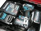 【新発売】マキタ充電式インパクトTD001GRDX(青)40Vバッテリー(2.5Ah)2個・充電器(DC40RA)セット