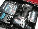 【新発売】マキタ充電式インパクトTD001GRDXB(黒)40Vバッテリー(2.5Ah)2個・充電器(DC40RA)セット