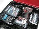 【新発売】マキタ充電式インパクトTD001GDXAR(オーセンティックレッド)40Vバッテリー(2.5Ah)2個・充電器(DC40RA)セット