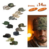 SHENKEL ミリタリーキャップ 帽子 全14種類 サバゲー 装備 メンズ レディース 服 ≪メール便対応≫