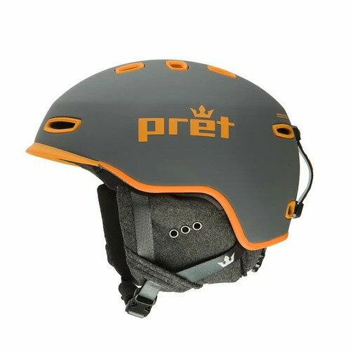 ポイント10倍!【9月22日14:00〜9月28日10:59まで】 Pret プレット 19-20 ヘルメット Cynic SlateGrey シニック スキーヘルメット HELMET 2020 : [206_SKIAC]