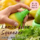 CITRUS SPRAY シトラススプレー (レモン搾り器)大・小型2個セット【宅配便配送】【&