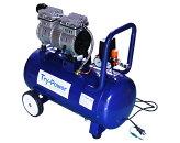 1馬力オイルレスコンプレッサー39リットル低騒音タイプ