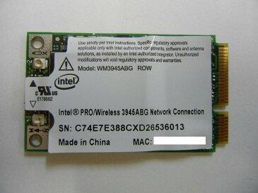 【新品】 純正 Intel PROWireless 3945ABG IEEE 802.11a/b/g準拠 miniPCI-E 無線LANカード