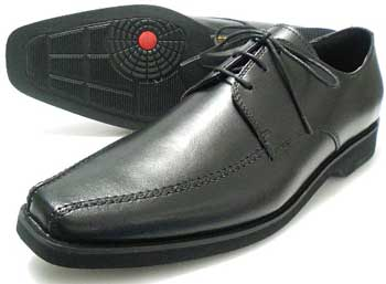 WALKERS-MATE 本革 スワールモカ ビジネスシューズ 黒 3E(EEE)/革靴・メンズ・紳士靴