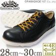 BEL・UOMO レザースニーカー カジュアルシューズ 黒(ブラック) ワイズ 4E(EEEE) 28cm(28.0cm)、29cm(29.0cm)、30cm(30.0cm)[大きいサイズ(ビッグサイズ)メンズ紳士靴]
