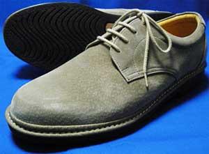 Rinescante Valentiano 本革スウェード プレーントウ ビジネスシューズ ダークベージュ 4E(EEEE) 27.5cm、28cm(28.0cm)、29cm(29.0cm)、30cm(30.0cm)/大きいサイズ・メンズ・革靴・紳士靴