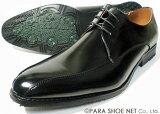 PARASHOE スワールモカ ビジネスシューズ 黒 ワイズ3E(EEE) 22cm(22.0cm)、22.5cm、23cm(23.0cm)、23.5cm、24cm(24.0cm)[小さいサイズ(スモールサイズ)紳士靴]