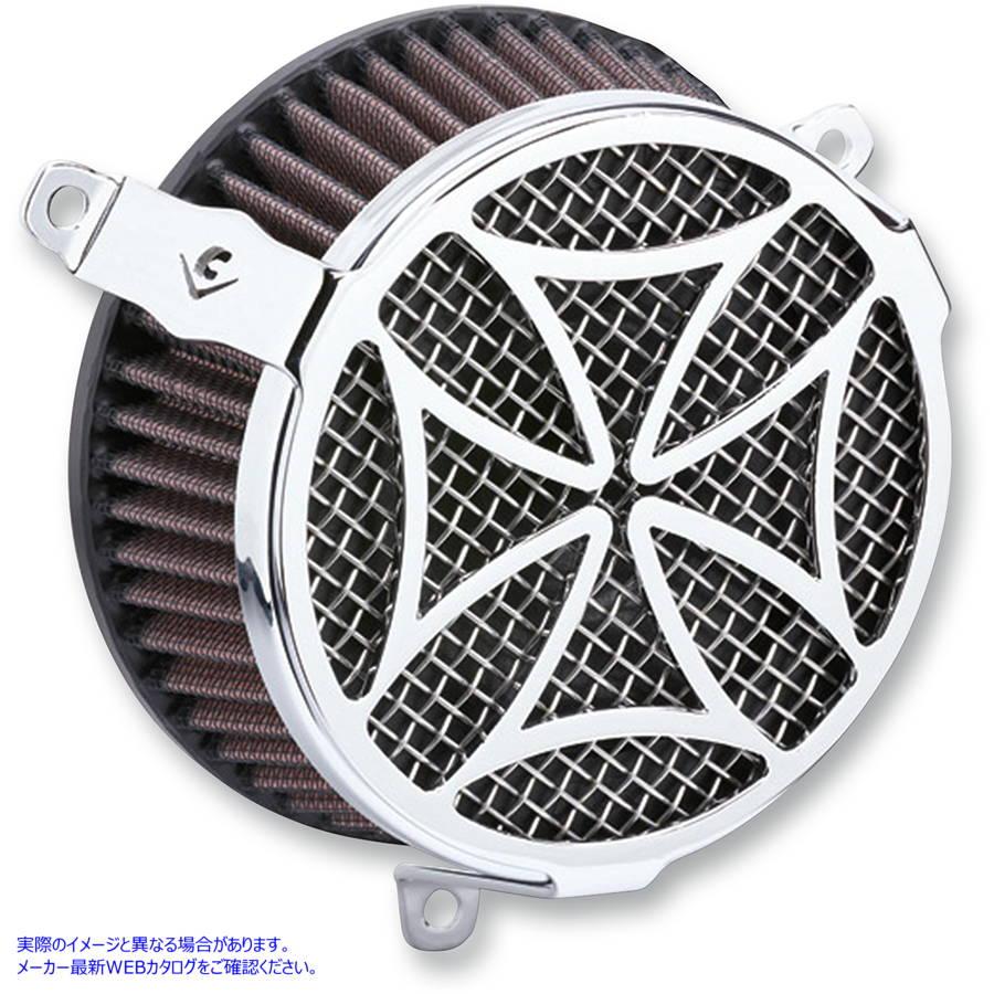 吸気・燃料系パーツ, キャブレター  606-0101-02 COBRA AIR FILTER CR CHR 17-18FL 10102139 ( 1010-2139 DRAG SPECIALTIES