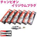 チャンピオン イリジウムプラグ 9001 6本 MS-9 HDES