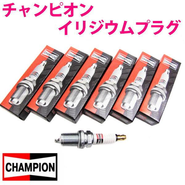 チャンピオン イリジウムプラグ [9801 6本]ジャガー ディムラー E-DLH