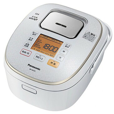 Panasonic IH炊飯器 5.5合炊き 大火力おどり炊き SR-HX107-W スノーホワイト パナソニック 【即納・送料無料】