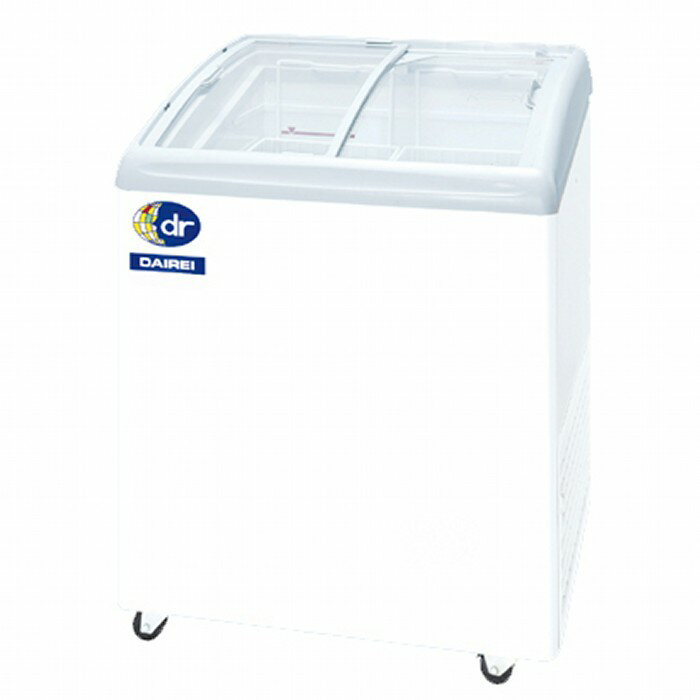 ダイレイ 無風冷凍ショーケース −25℃ 102L RIO-68e RIO-68SS 【送料無料・代引き不可】