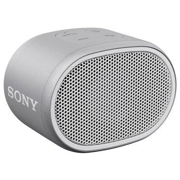 SONY ワイヤレスポータブルスピーカー SRS-XB01-W ホワイト ソニー Bluetooth対応 【即納】