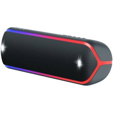SONY ワイヤレスポータブルスピーカー SRS-XB32-B ブラック ソニー Bluetooth対応 【即納・送料無料】