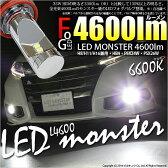 ☆LED MONSTER L4600 モンスター LEDフォグランプキット LEDカラー:ホワイト 色温度:6600ケルビン バルブ規格:H8/H11/H16兼用、HB4、HB3、PSX26W、PSX24W【あす楽】【5%OFFクーポン】