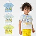 【セール20%OFF】【メール便送料無料】bit'z(ビッツ)動物玉入れプリントTシャツ【男の子】【80-120】【b207059】